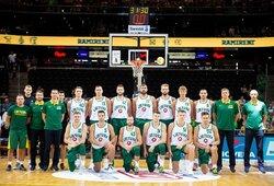 Sutrumpėjo Lietuvos vyrų krepšinio rinktinės kandidatų sąrašas