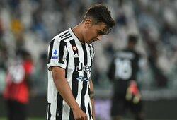 """Lygiosiomis su """"AC Milan"""" rungtynes baigęs """"Juventus"""" lieka """"Serie A"""" lygos turnyrinės lentelės dugne"""