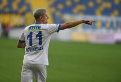 """""""Erzurumspor"""" nori išsaugoti A.Novikovą savo gretose"""