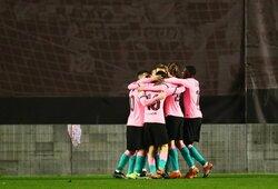 """Pirmąjį rungtynių įvartį praleidusi """"Barcelona"""" pateko į Ispanijos Karaliaus taurės ketvirtfinalį"""
