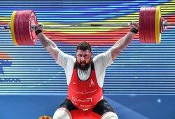 Stipriausias pasaulio sunkiaatletis sukūrė istoriją: sumušė du pasaulio rekordus