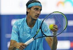 Ant prarajos ribos buvęs L.Sonego triumfavo ATP 250 turnyre Sardinijoje