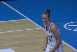 J.Jocytė pelnė pirmus karjeros Eurolygoje taškus, ASVEL užsitikrino vietą ketvirtfinalyje