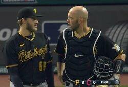 """D.Neverauskas sėkmingai baigė MLB sezoną, """"Pirates"""" užėmė paskutinę vietą lygoje"""
