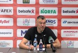"""LKL komunikacijos vadovas sukritikavo Š.Jasikevičiaus elgesį: """"Negalima taip bendrauti"""""""