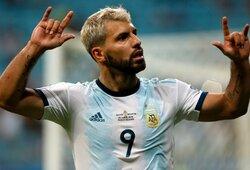 """Užtikrintai Katarą nugalėjusi Argentina iškovojo bilietą į """"Copa America"""" turnyro ketvirtfinalį"""