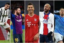 25 geriausi pasaulio futbolininkai: C.Ronaldo – žemiausiai nuo 2010 m.