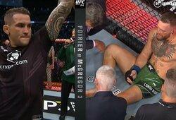 """C.McGregoro sukčiavimą kovos metu atskleidęs D.Poirier: """"Jis – padugnė"""""""