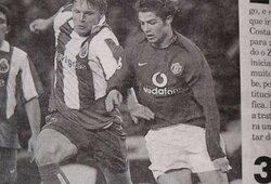 E.Jankausko geriausių varžovų rinktinė – su dviem Ronaldo, R.Carlosu, Z.Zidanu ir kitais