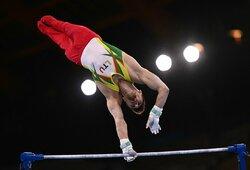 R.Tvorogalui Tokijo olimpiada susiklostė nesėkmingai: lietuvis krito nuo skersinio