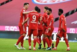 """""""Bayern"""" vietiniame čempionate varžovams atseikėjo 5 įvarčius"""