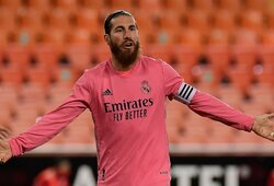 """""""Real"""" rungtynėse su """"Sevilla"""" vis dar versis be S.Ramoso pagalbos"""