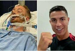 Po užpuolimo komoje atsidūrusiam futbolininkui – speciali C.Ronaldo žinutė