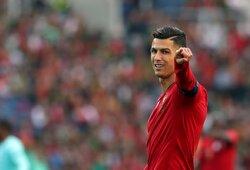 Pamatykite: iškalbinga C.Ronaldo reakcija sužinojus, jog jis netapo geriausiu Tautų lygos žaidėju