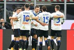 """""""Atalanta"""" išvykoje sutriuškino """"AC Milan"""" futbolininkus"""