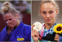 """Dėl olimpinio aukso badavusi pasaulio čempionė: """"Norėjau atsisakyti kovos dėl bronzos"""""""