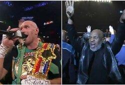 M.Tysoną šėlti privertęs T.Fury padarė sunkiasvorių bokse dar neregėtą dalyką, krito L.Lewiso ir E.Holyfieldo kovos rekordas