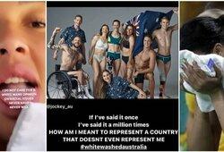 Krepšinio žvaigždė grasina boikotuoti olimpiadą: supyko dėl fotosesijai pozavusių žmonių rasės