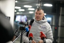 """Š.Jasikevičius: apie S.Vasturios indėlį, nerimą keliantį dalyką ir malonumą žiūrėti į """"Žalgirį"""""""