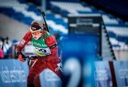 Pasaulio jaunimo biatlono čempionate Lietuvos vaikinų rinktinė – 20-a, M.Fominas savo etapą baigė 9-as