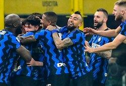 """Italijoje – neįskaitytas C.Ronaldo įvartis ir """"Inter"""" pergalė prieš """"Juventus"""""""