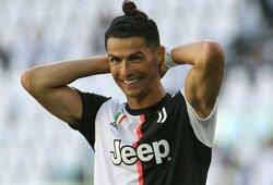"""C.Ronaldo nesulaikė emocijų ir pakomentavo: """"Gražiausia moteris pasaulyje"""""""