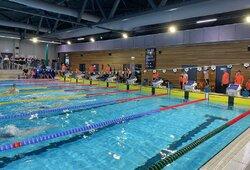 Vilniuje pirmą kartą surengtos plaukimo varžybos su laiko fiksavimo sistema