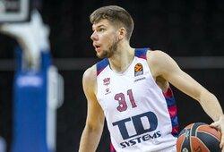 """""""Baskonia"""" susitvarkė su Belgrado krepšininkais"""
