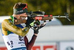 Lietuvos biatlono rinktinė Europos čempionate – 14-a