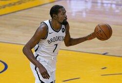 """K.Durantas lieka """"Visų žvaigždžių"""" komandos kapitonu"""