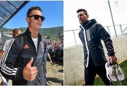 C.Ronaldo ar L.Messi? Mokslo daktarų sukurta formulė nustatė, kuris futbolininkas geresnis