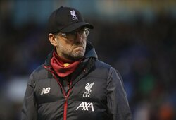 """""""Liverpool"""" nepersistengs pakartotinėse taurės rungtynėse: J.Kloppas pasakė, kodėl žais vaikai"""