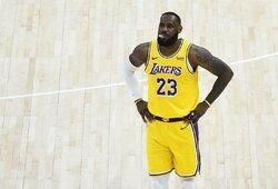 """""""Lakers"""" komanda sutriuškinta Jutoje"""