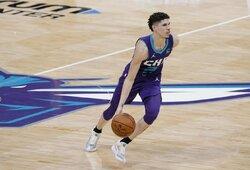 LaMelo tapo geriausiu NBA sezono naujoku