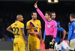 """Atsakomosiose rungtynėse """"Barcelona"""" padėti negalės S.Busquetsas ir A.Vidalis, traumą gavo ir G.Pique"""