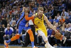 """""""BleacherReport"""": tarp NBA žvaigždžių, turinčių reikalauti mainų –ir D.Sabonis"""