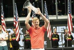ATP 250 turnyras Niujorke baigėsi K.Edmundo triumfu