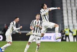 "Dominavęs ""Juventus"" sutriuškino ""Spezia"" futbolininkus"