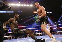 Karalius krito: T.Fury dominavo prieš D.Wilderį ir tapo WBC pasaulio čempionu!