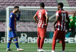 """""""La Liga"""" pirmenybių lyderių mūšis tarp """"Barcelonos"""" ir """"Atletico"""" baigėsi be įvarčių"""