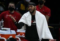 """C.Anthony ir L.Jamesas sudarys duetą """"Lakers"""" gretose"""