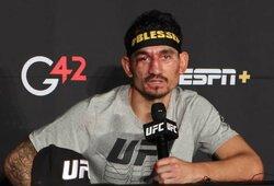 UFC visų laikų rekordus sutriuškinęs M.Holloway taikosi į kovą su Ch.Nurmagomedovu, N.Diazas įgėlė čempionui