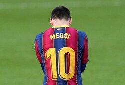 """""""RMC Sport"""": kitais metais L.Messi vilkės PSG marškinėlius"""