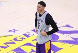 """L.Ballo reakcija sužinojus apie """"Lakers"""" mainus: """"Aš džiaugiausi"""""""