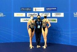 Šiauliuose įvyko šalies dailiojo plaukimo čempionatas