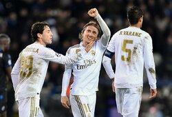 """""""Real"""" ir PSG Čempionų lygos grupių etapą užbaigė solidžiomis pergalėmis"""