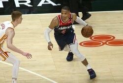 R.Westbrookas tapo absoliučiu trigubų dublių rekordininku