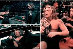WWE legenda prisiminė skandalingą sceną: prezidentas grasino atleidimu, jei ji ringe nepasimylės su Edge'u