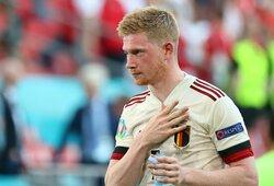 Euro 2020: 3 pergales iškovojusi Belgijos rinktinė užtikrintai žengė į atkrintamąsias kovas