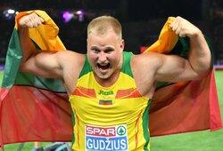 Neįtikėtina: A.Gudžius paskutiniu bandymu dramatiškai išplėšė Europos čempionato auksą!